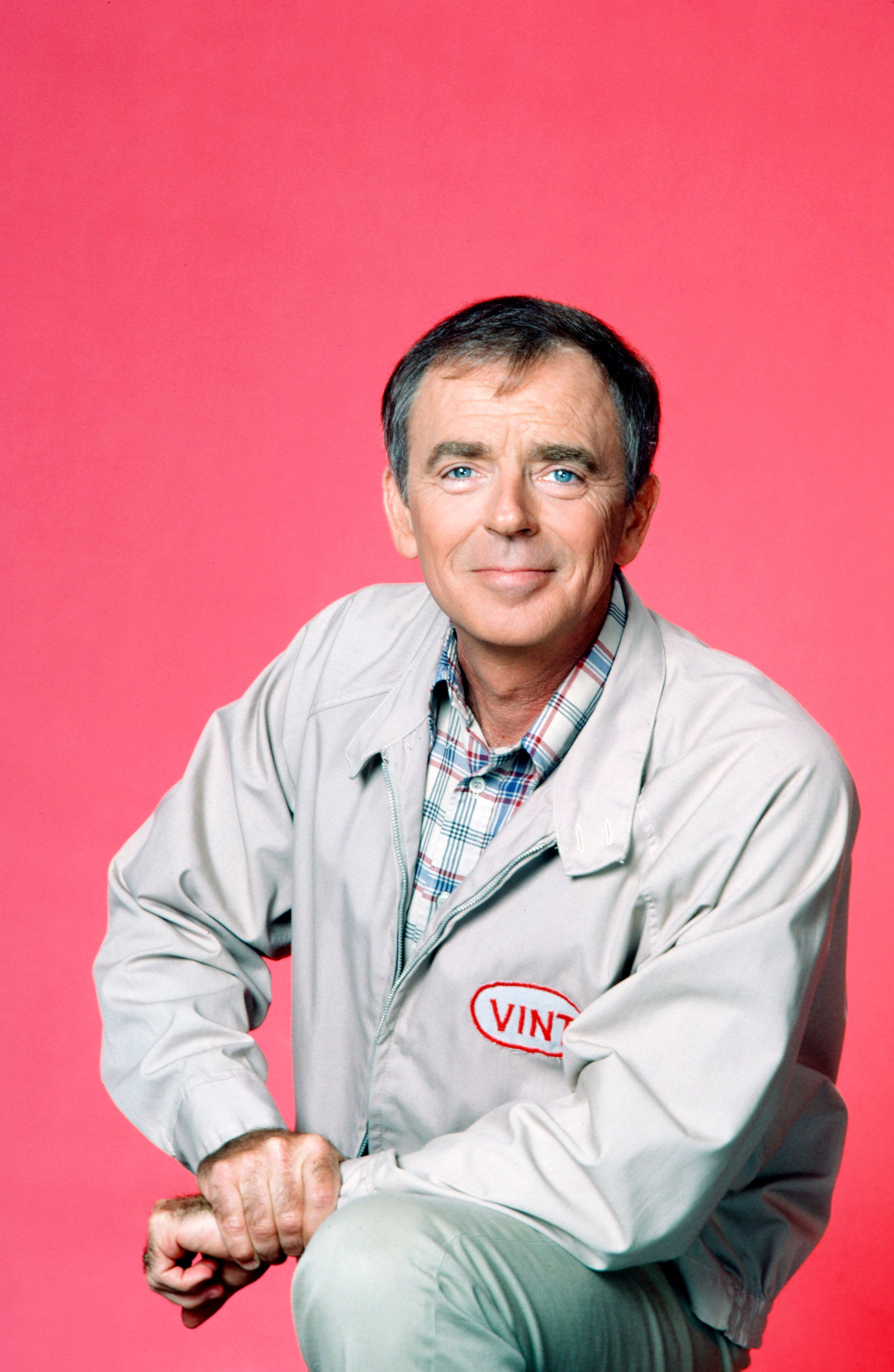 MAMA'S FAMILY -- Season 2 Gallery -- Pictured: Ken Berry as Vinton Harper -- (Photo by: Ron Tom/NBC/NBCU Photo Bank via Getty Images)