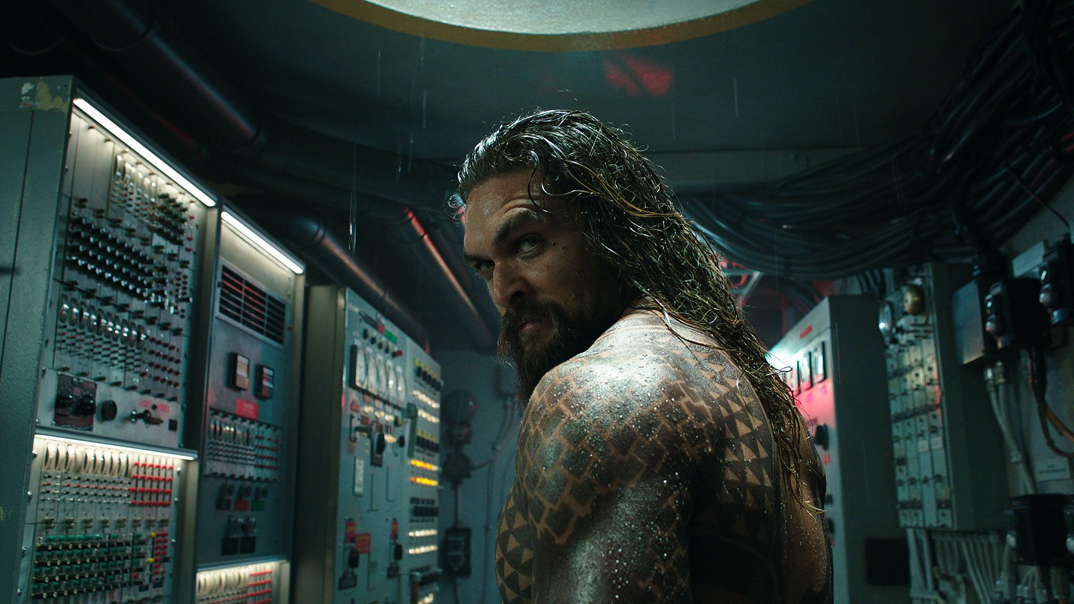 Aquaman knows you're looking at his