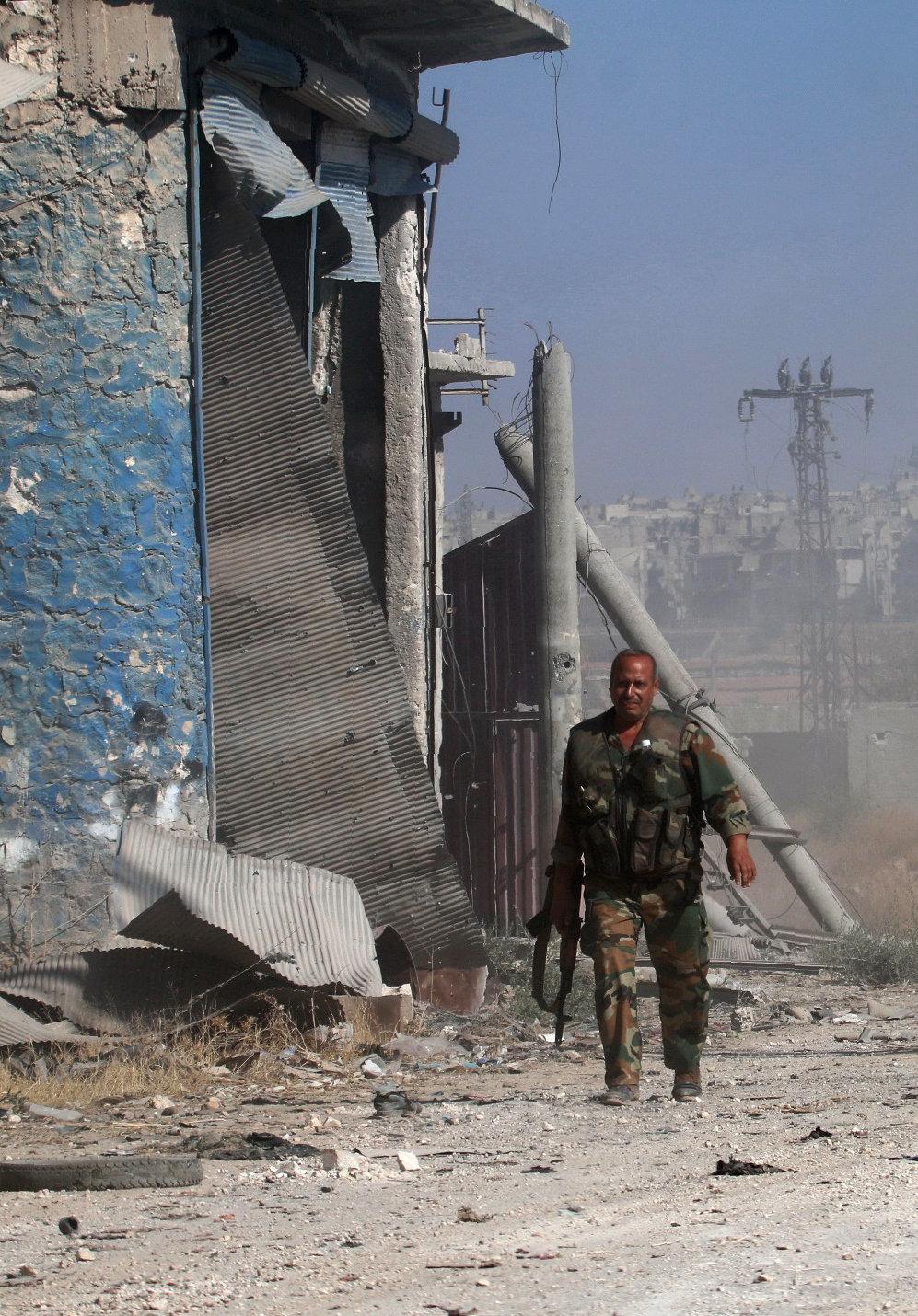 H Δαμασκός κατηγορεί τις ΗΠΑ για πλήγμα κατά θέσεων του στρατού