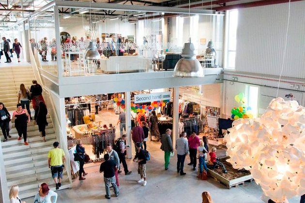 스웨덴에 생긴 세계 최초의 중고 쇼핑몰은 이런