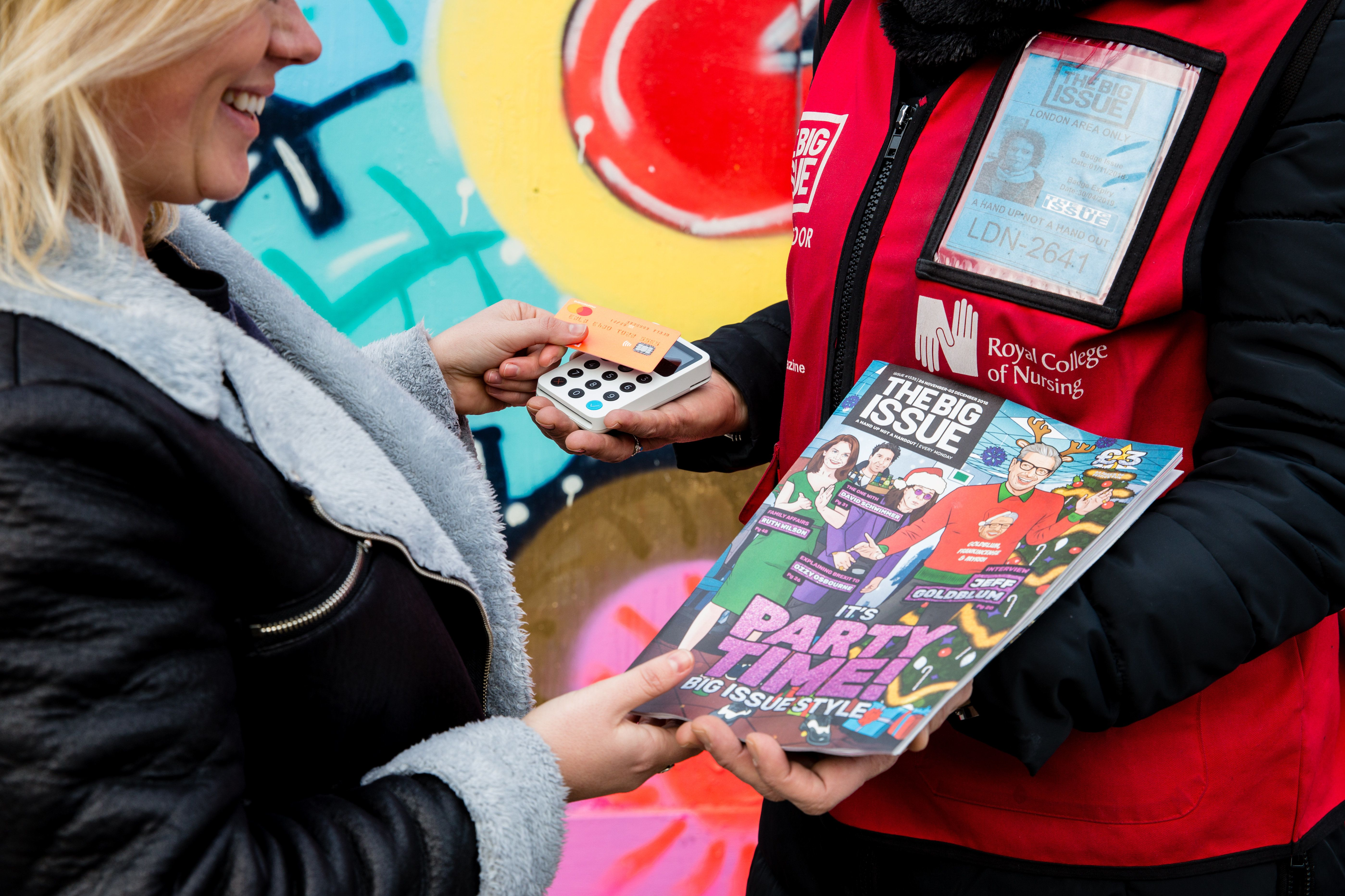 You Can Now Pay For The Big Issue With Contactless