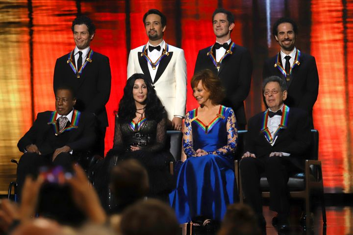 This year's Kennedy Center honorees.