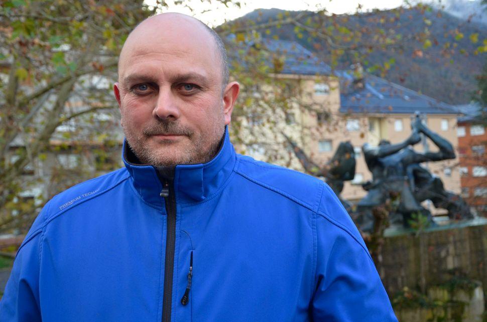 Rolando Prieto Perez, 43, a miner.