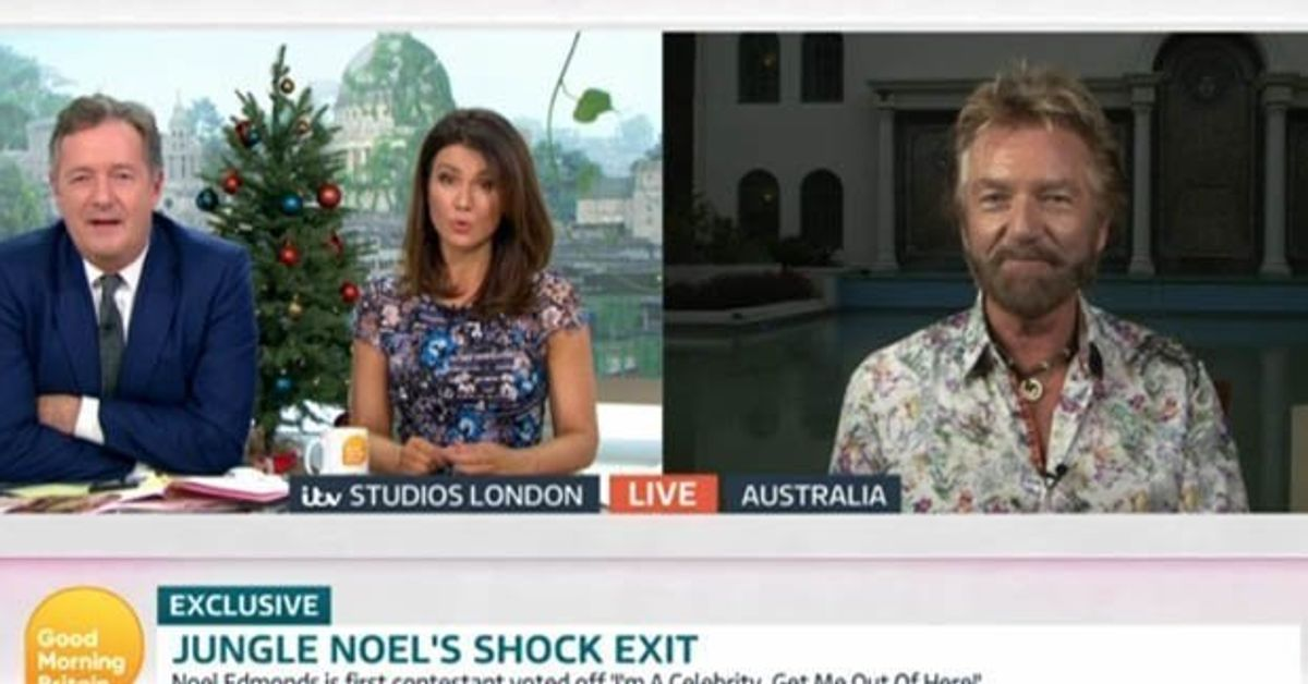 Noel Edmonds Shuts Down Piers Morgan's Questions Over 'I'm A Celebrity' Pay