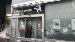 À Paris, Chaabi Bank parmi les banques attaquées par les gilets