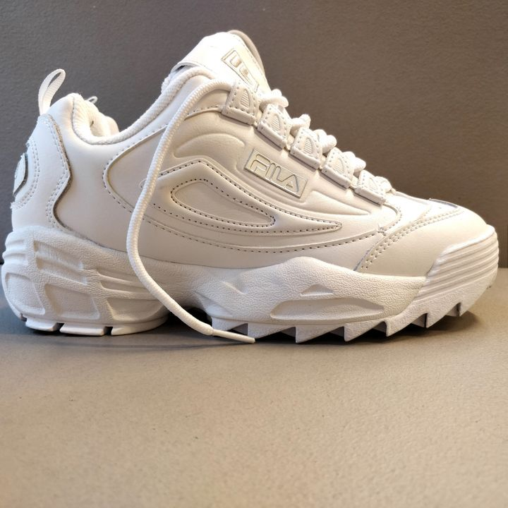 Fila Disruptor White Chunky Trainers Vs Primark And Other ...