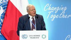 Sir David Attenborough exhorte les dirigeants à lutter contre le climat