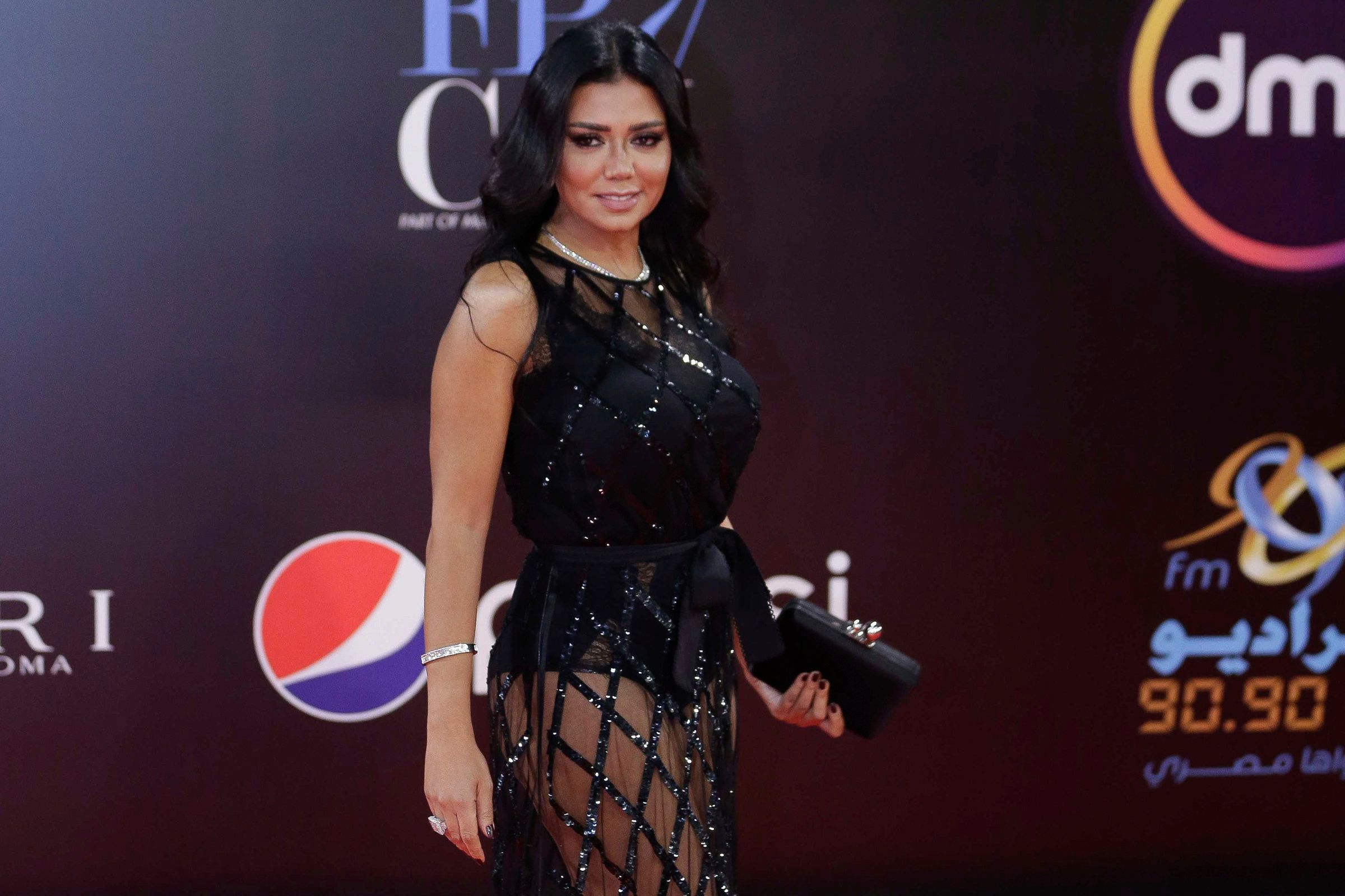 Suit Dropped Against Egyptian Actress Rania Youssef Over Sheer Red Carpet