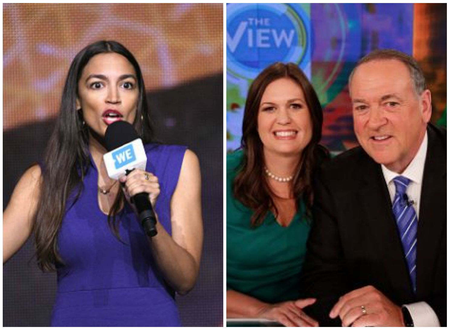 Alexandria Ocasio-Cortez Tells Mike Huckabee To Leave 'False Statements To