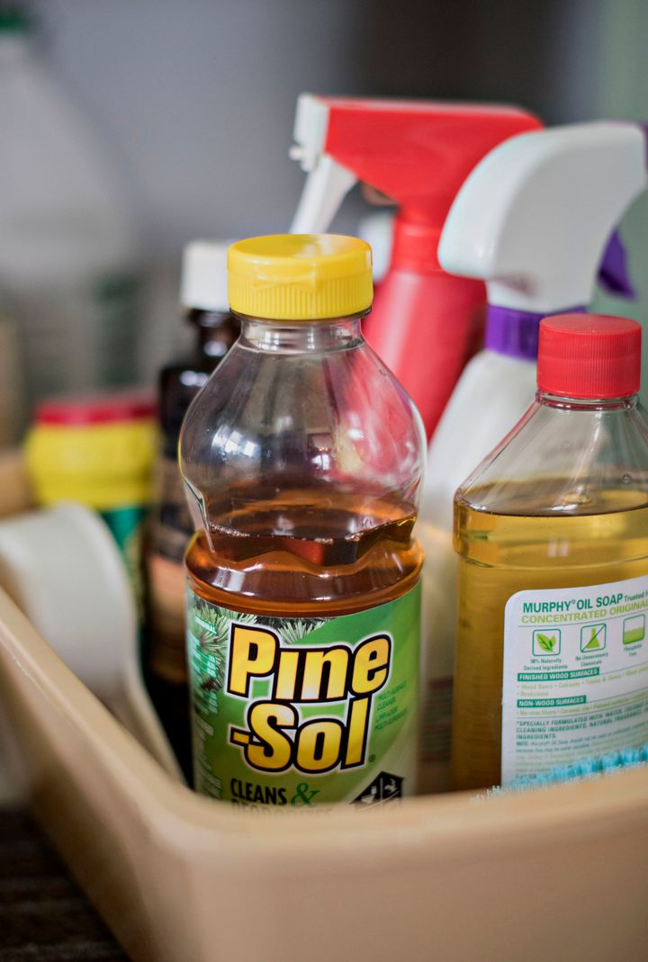 Preschoolers in Hawaii were mistakenly served Pine Sol instead of apple juice, according to state health officials.