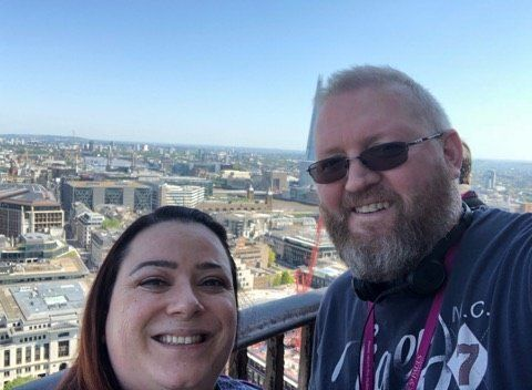 Lee Brookes got help and is now debt free and set to marry his partner Emma at Easter