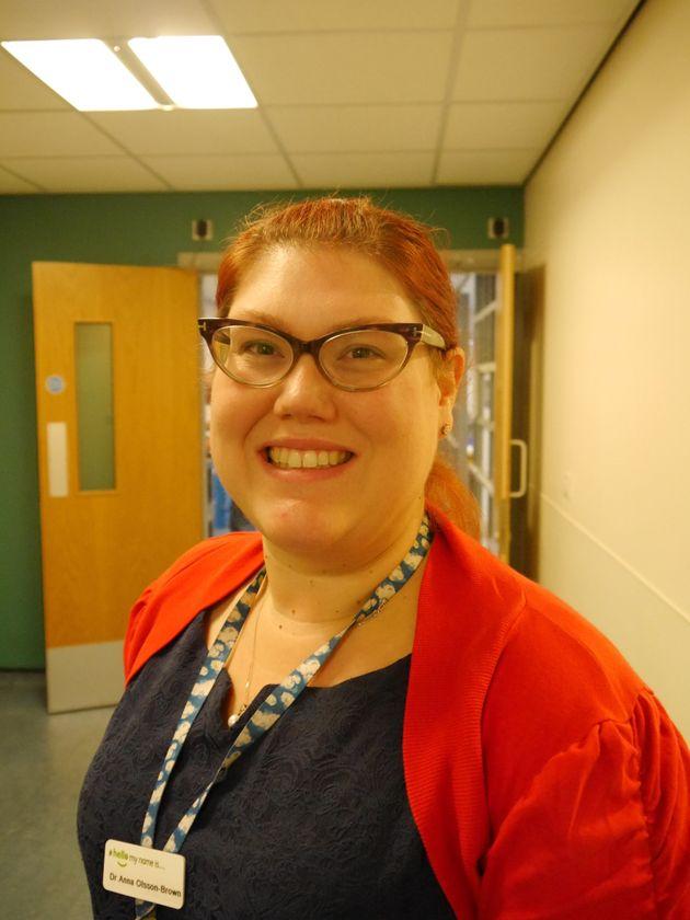 Dr Anna Olsson-Brown at Clatterbridge Cancer