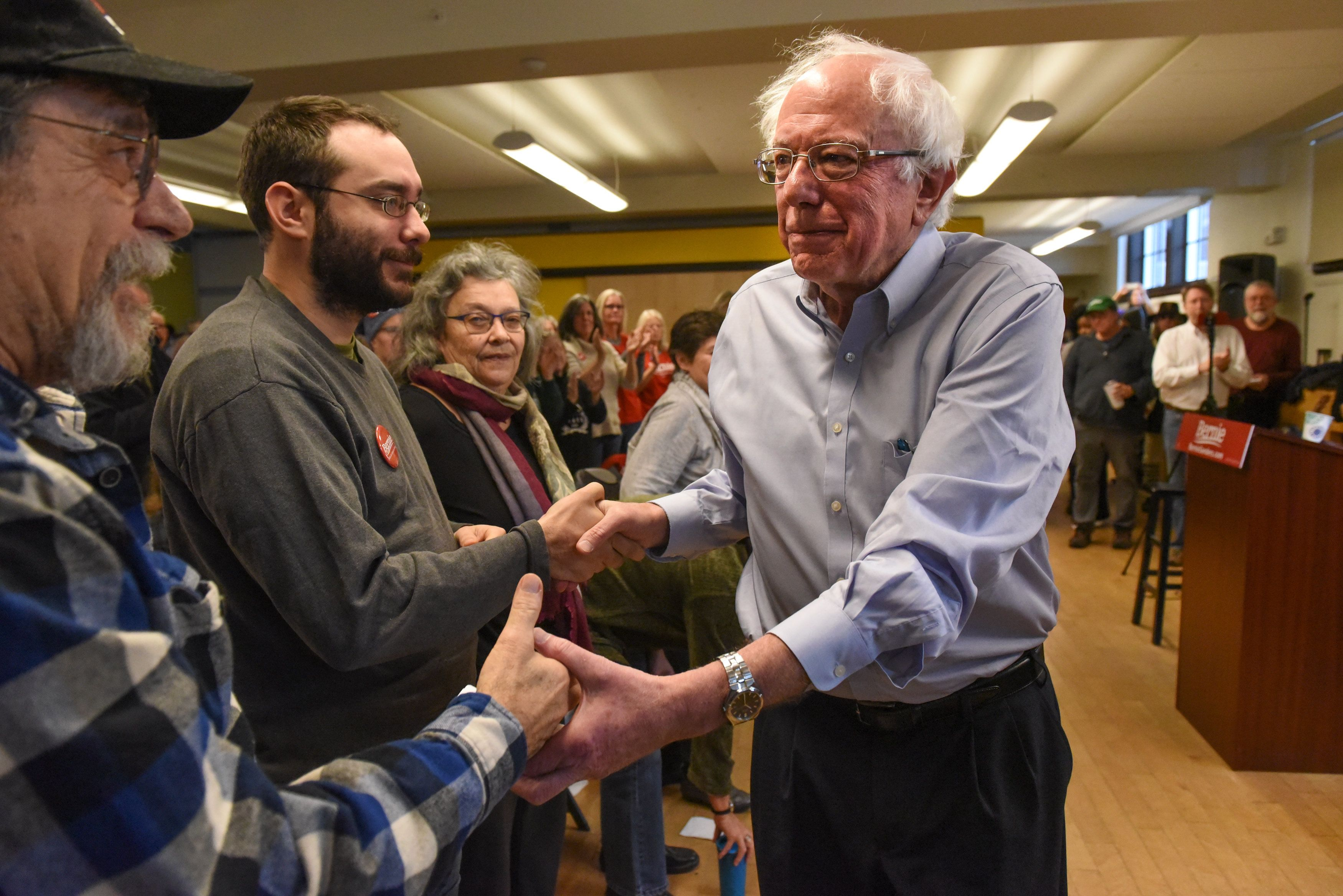 Bernie Sanders Raises $4 Million on Day One of His Presidential Campaign