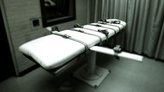a lethal injection table