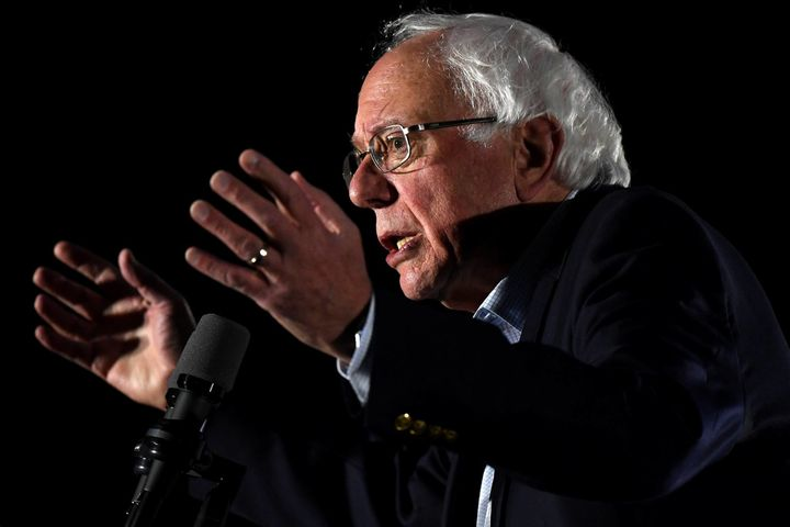 Bernie Sanders Stakes Out Forceful Climate Stance, Leapfrogging The 2020 Field