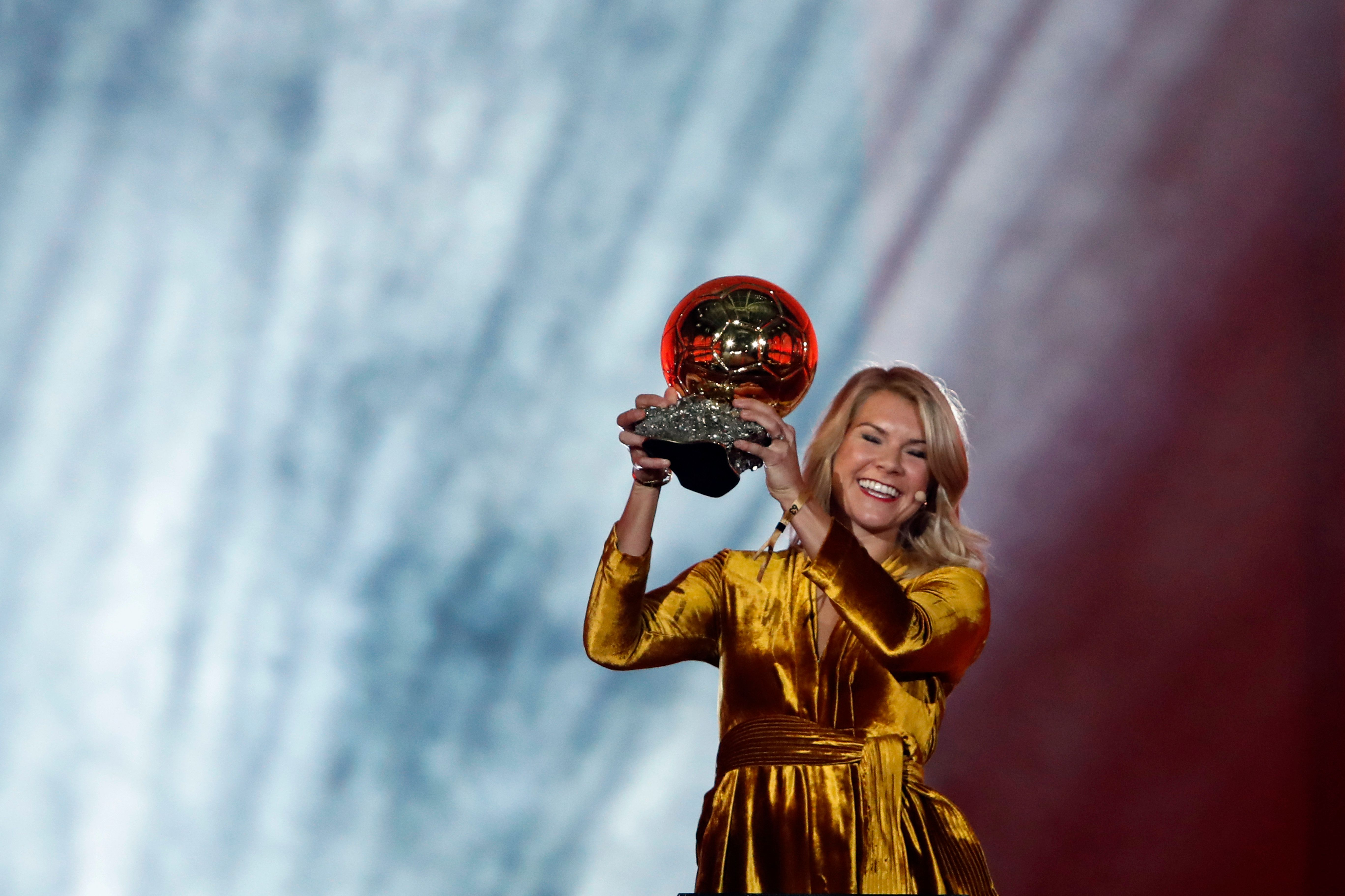 Female Footballer Wins Historic Award, Is Promptly Asked If She Can