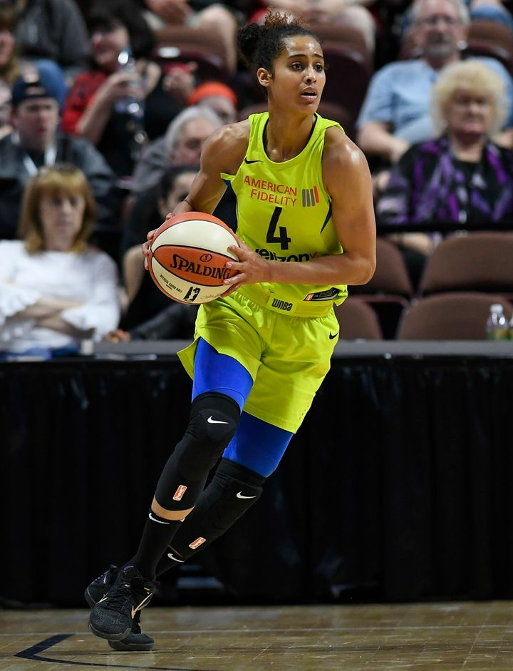 Skylar Diggins-Smith has argued the WNBA should increase the salaries paid to its players.