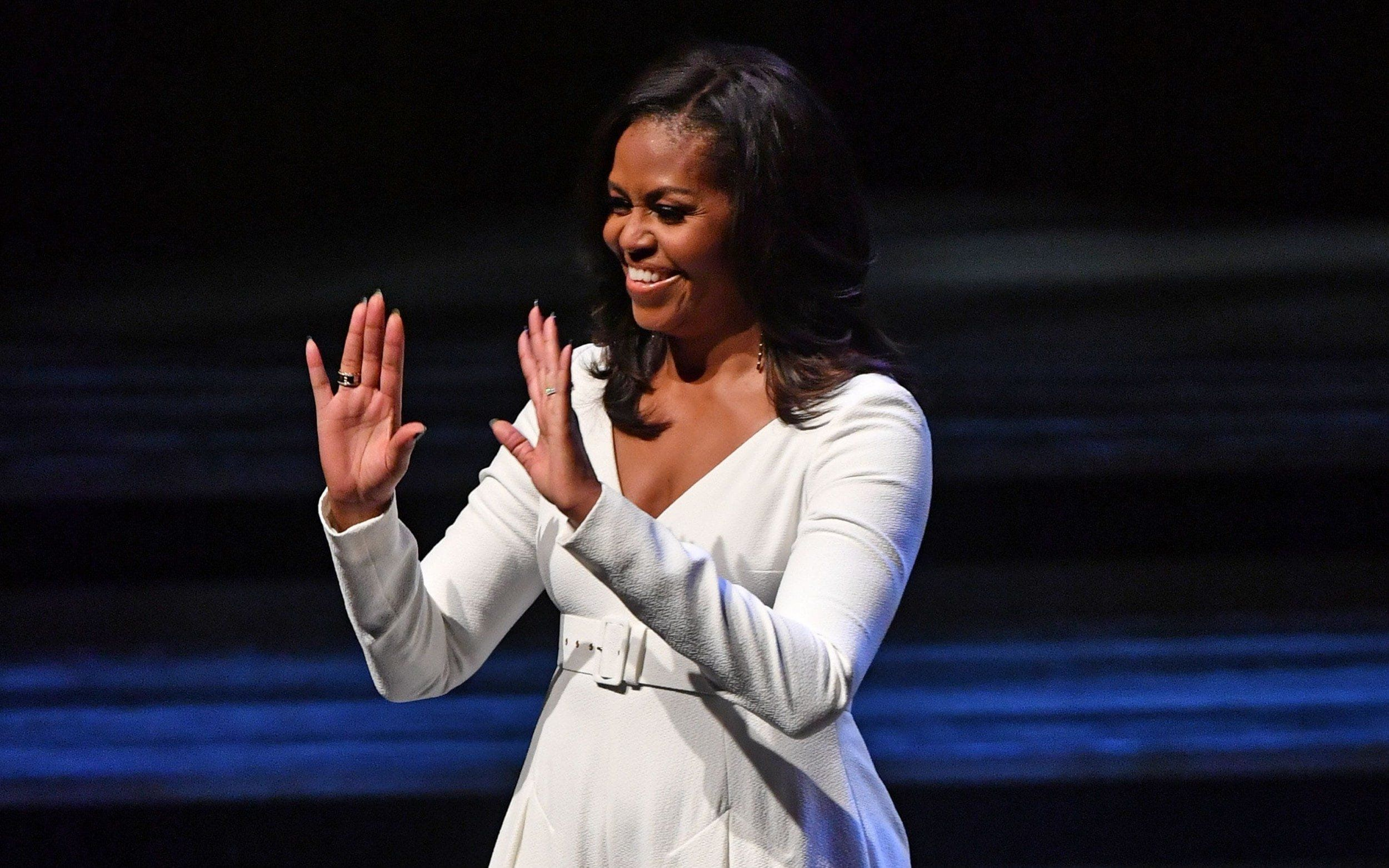Michelle Obama Tells Young Women: 'World Leaders Don't Have Better Ideas Than