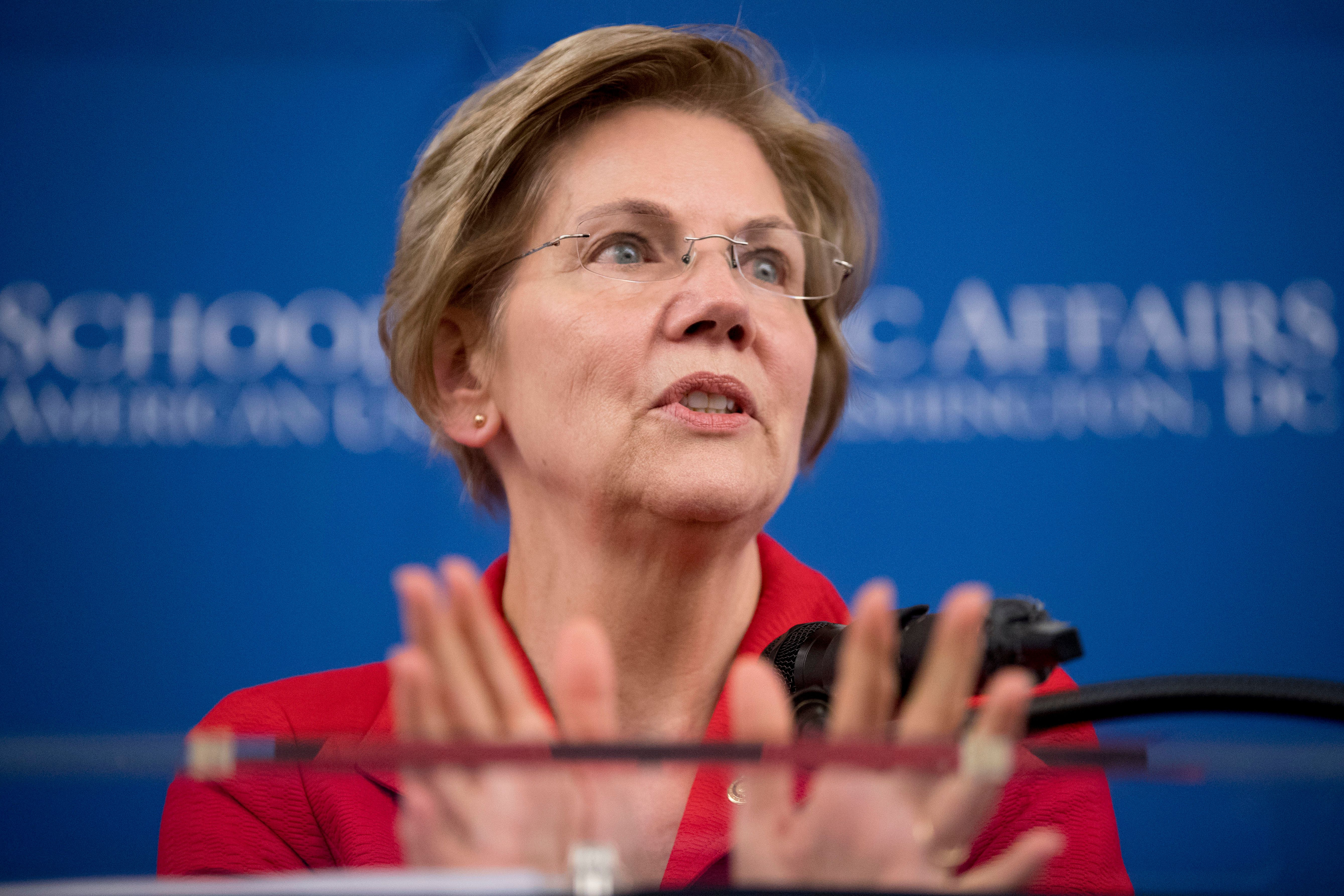 """Elizabeth Warren """"deserves credit for saying what most in Washington refuse to admit,"""" write Stephen Miles and Kate Kizer."""