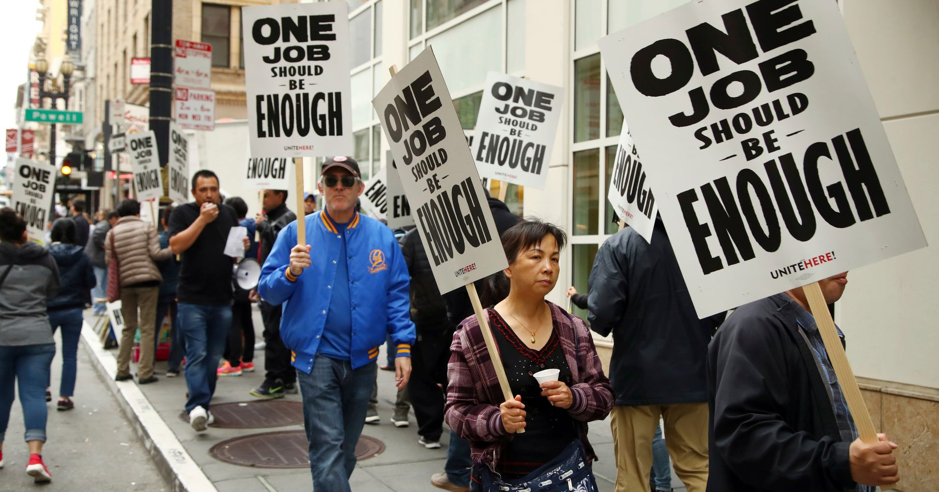 Huge Marriott Hotel Strike Ends With San Francisco Workers Winning Better  Pay | HuffPost