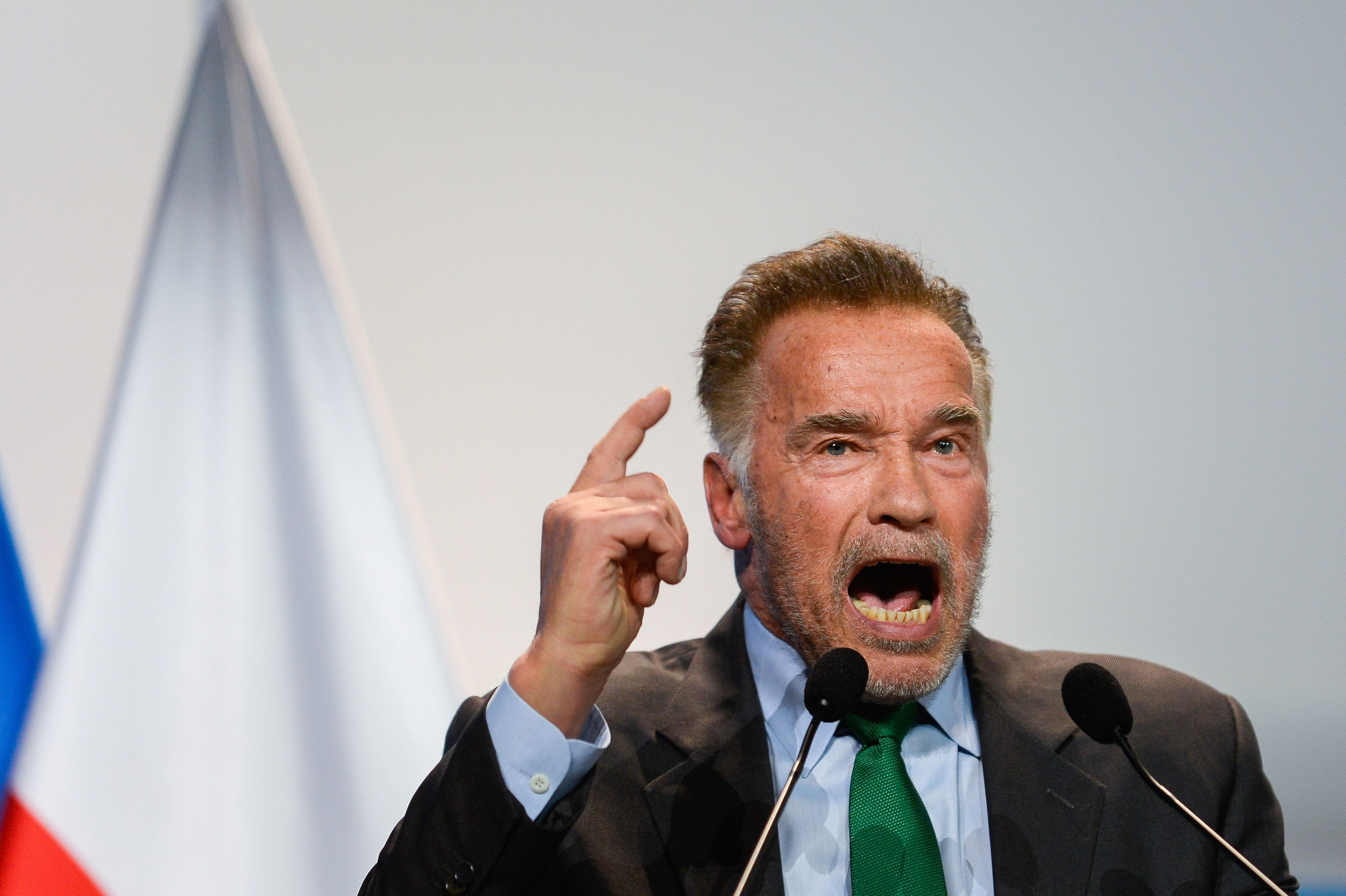 Schwarzenegger Goes After Trump At Climate Summit: America Is More Than One
