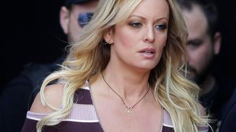 "<p> FILE - In this Oct. 11, 2018, file photo, adult film actress Stormy Daniels arrives for the opening of the adult entertainment fair ""Venus,"" in Berlin. Attorneys for President Trump want a Los Angeles judge to award $340,000 in legal fees for successfully defending him against defamation claims by Daniels. Attorneys are due in Los Angeles federal court Monday, Dec. 3, to make their case that gamesmanship by Daniels' lawyer led to big bills. (AP Photo/Markus Schreiber, File) </p>"