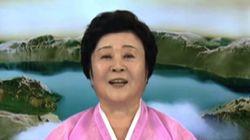 북한 조선중앙TV의 리춘희 앵커가 은퇴한다(과거