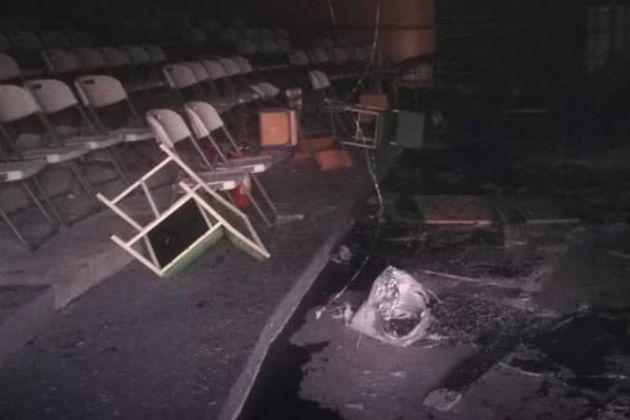 Φωτιά στο Μπίλλειο Πολιτιστικό Κέντρο: Εμπρησμό καταγγέλλει ο δήμαρχος