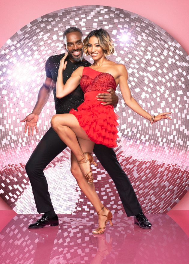 Charles Venn and Karen Clifton at the beginning of their time on
