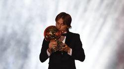 Luka Modric Ballon d'Or 2018 devant Cristiano Ronaldo et les champions du