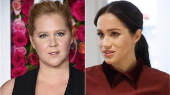 Amy Schumer and Meghan Markle