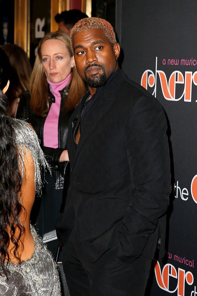 Kanye on the red carpet at 'The Cher