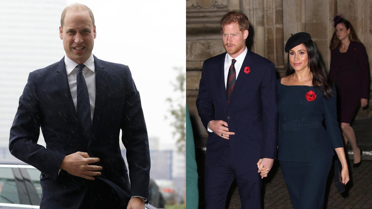 Vor Royal-Hochzeit: Warum William Zweifel an Harrys und Meghans Ehe