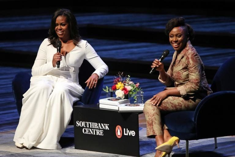 Michelle Obama Launches New Autobiography 'Becoming' At London's Southbank