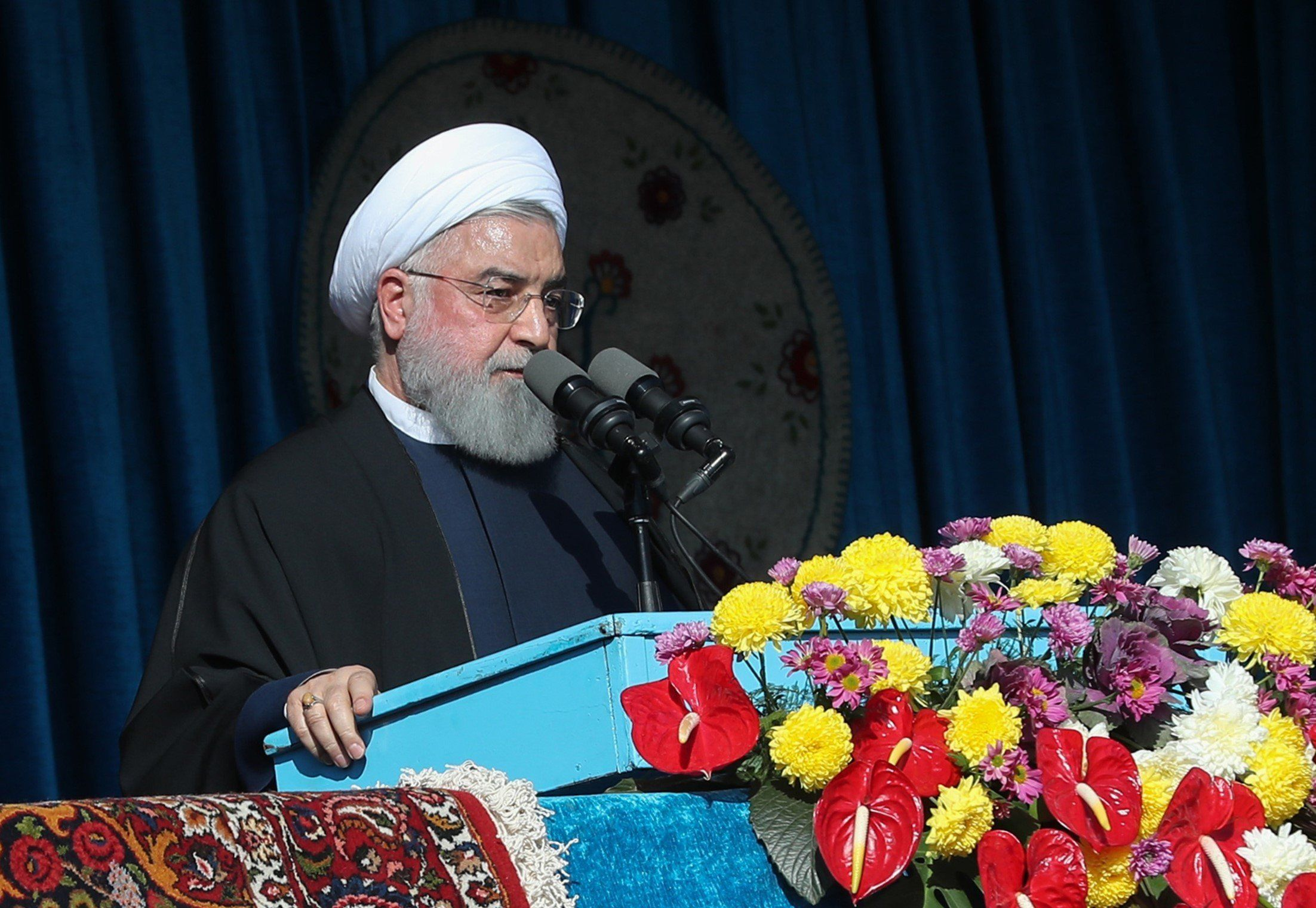 Sanctions: l'Iran peut bloquer les exportations de pétrole du Golfe, menace