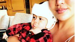 Chrissy Teigen's Son Gets Corrective Helmet And Twitter Responds