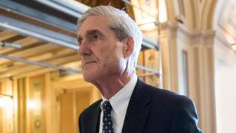 FILE - In this June 21, 2017, file photo, special counsel Robert Mueller departs after a meeting on Capitol Hill in Washington. Mueller is back. After a quiet few months in the run-up to the midterm elections, the special counsel's Russia investigation is heating up again with a string of tantalizing new details emerging this week.(AP Photo/J. Scott Applewhite, File)