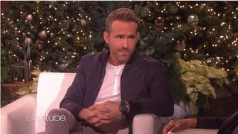 Ryan Reynolds chats about parenting on Ellen DeGeneres' talk show.