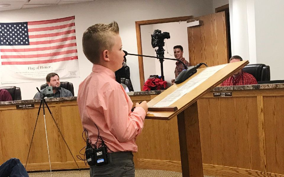 Boy hits target, convinces town to scrap snowball fight ban