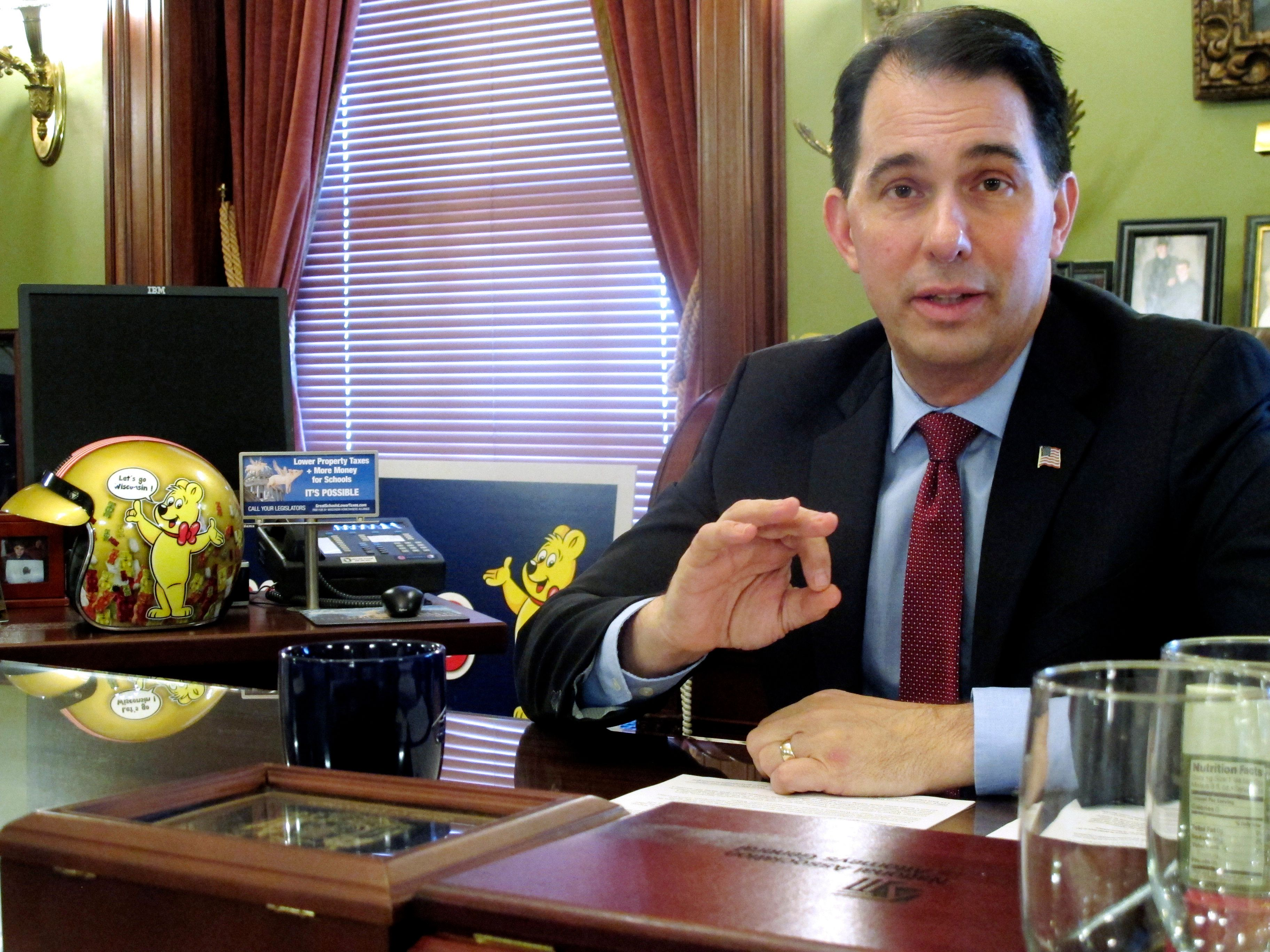Scott Walker Leaves As He Came, With Extreme Partisan Power Grabs