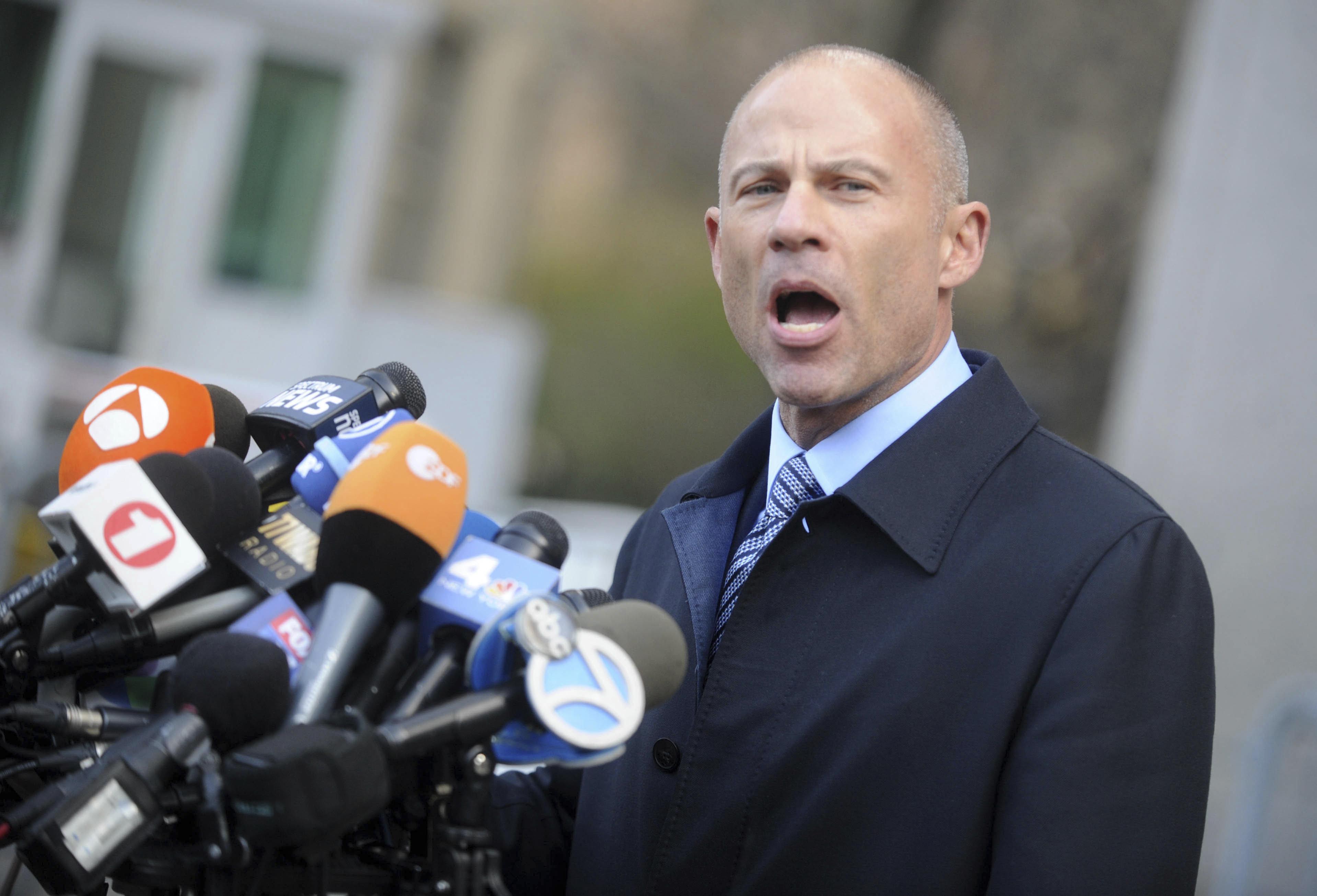 Michael Avenatti Says He Won't Run For President After