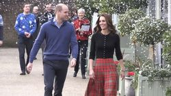 Royal Family Get In The Festive