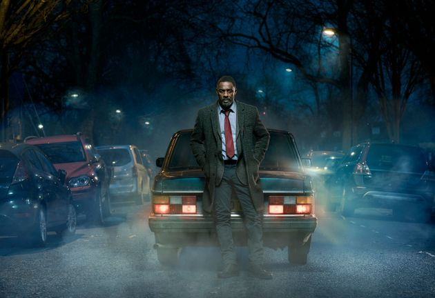 The return of 'Luther' is spearheading the BBC's New Year's Day