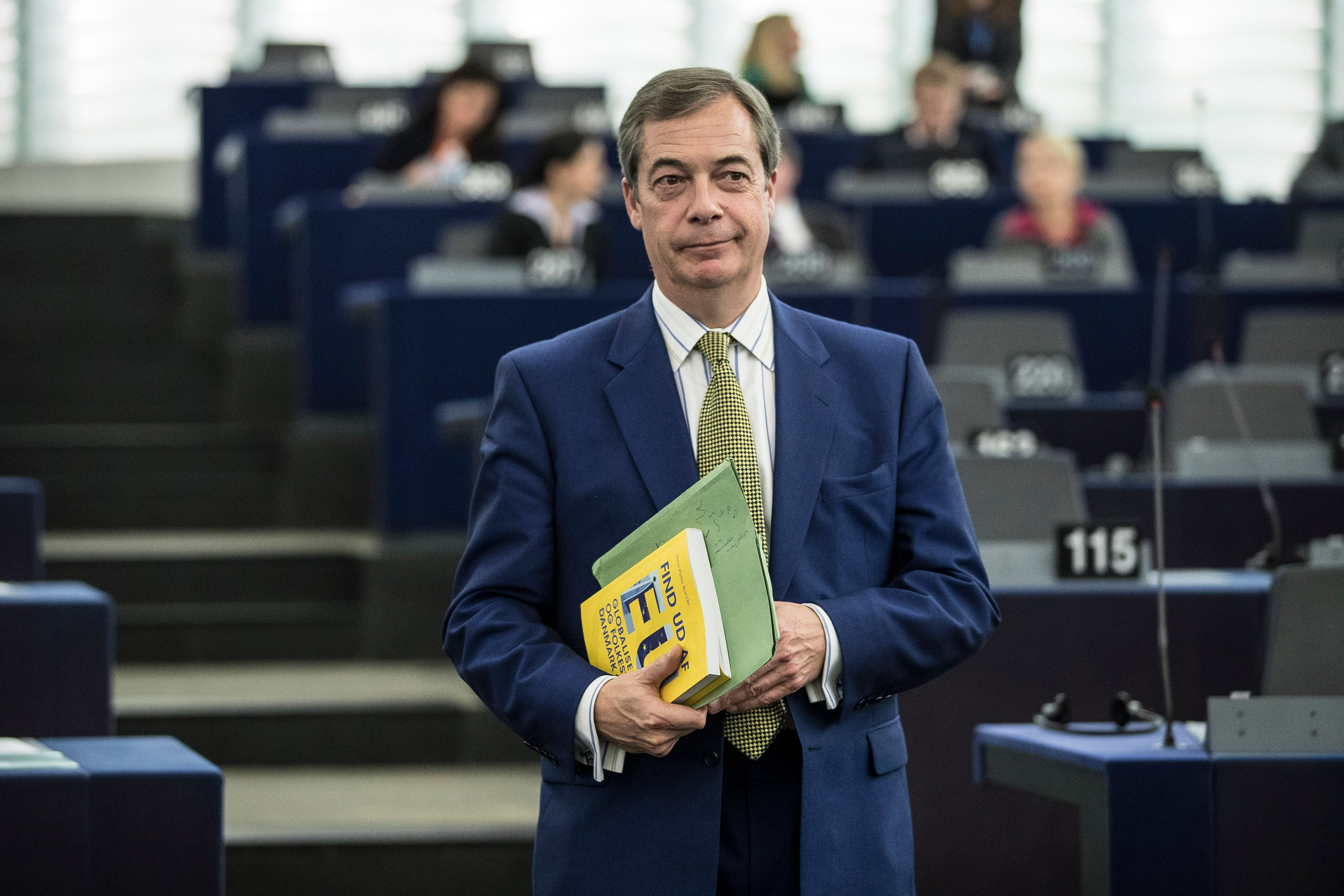 Former leader Nigel Farage quits UKIP