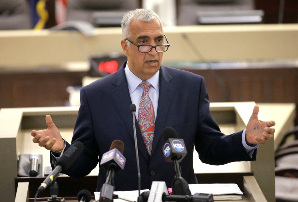 Salt Lake County District Attorney Sim Gill has been calling on the Utah State Legislature to pass stricter hate crime legisl