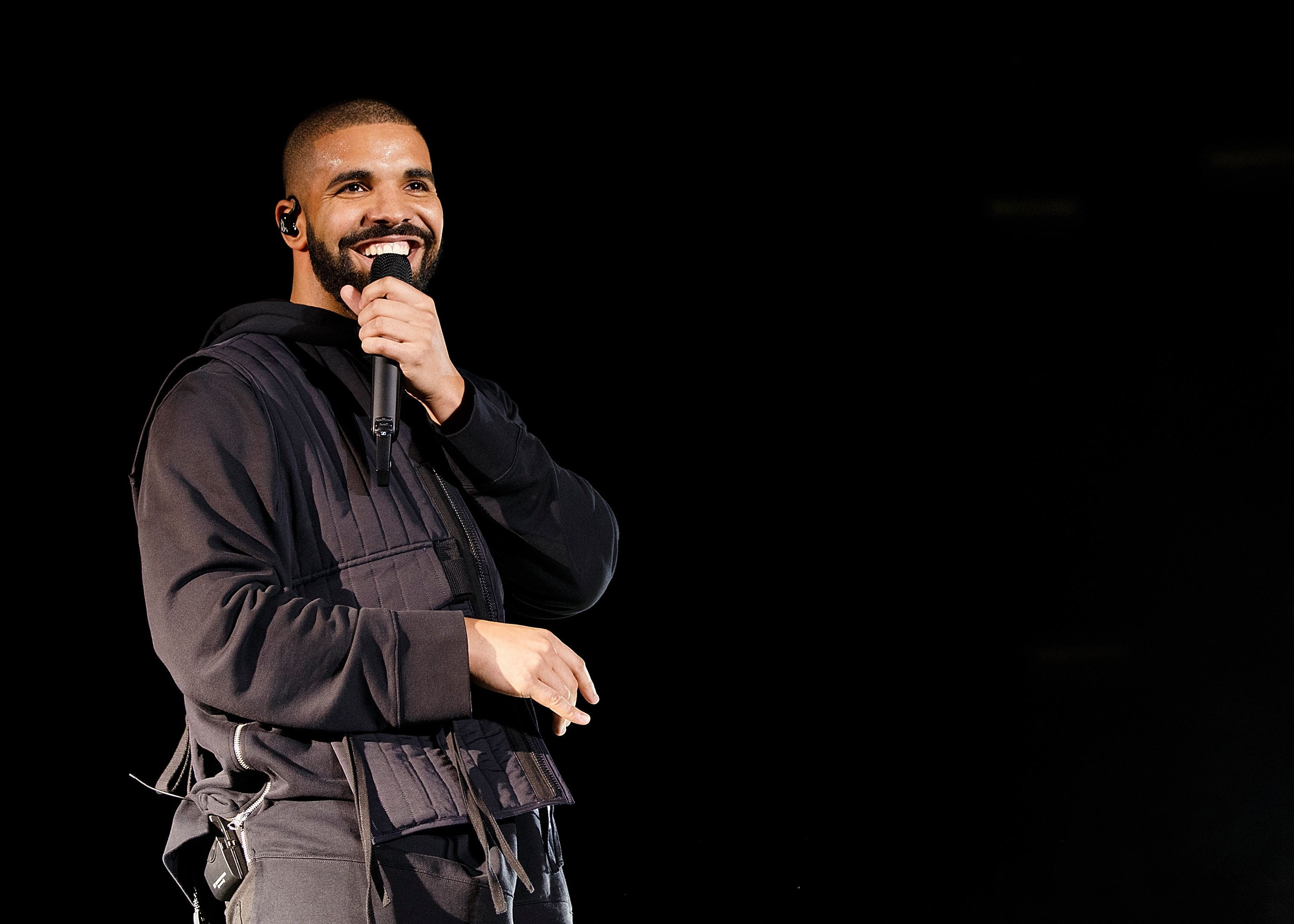 Drake performs at the Squamish Valley Music Festival in