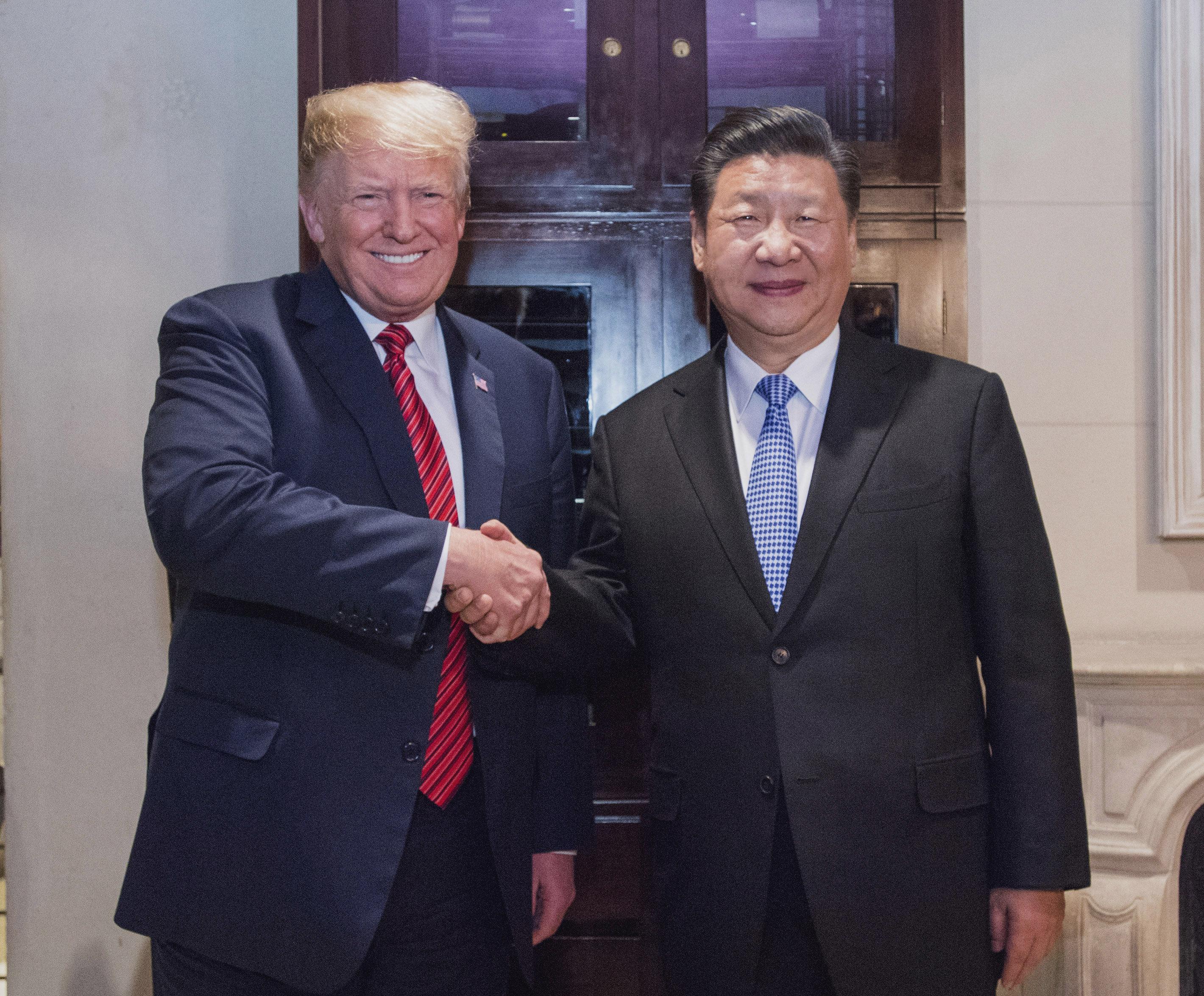 Donald Trump und Xi Jinping in Buenos Aires beim G20-Gipfel.