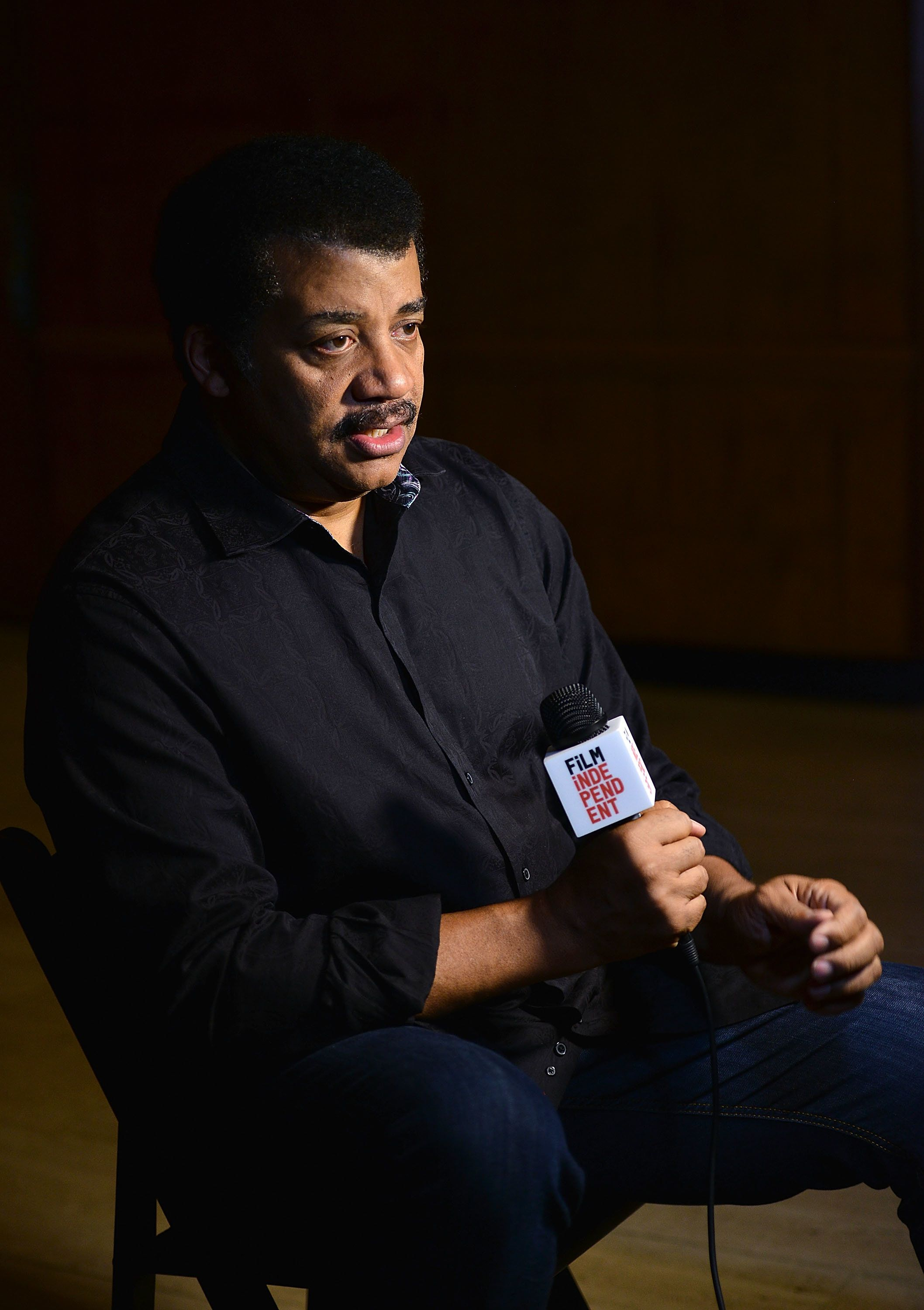 LOS ANGELES, CA - JUNE 05:  Neil deGrasse Tyson attends Film Independent at LACMA presents StarTalk - A Conversation with Astrophysicist Neil deGrasse Tyson at Bing Theater At LACMA on June 5, 2018 in Los Angeles, California.  (Photo by Araya Diaz/Getty Images)
