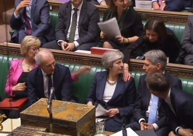 Ex-Tory MP Christopher Gill Sparks Security Scare With Commons Protest At May's 'Outrageous' Brexit