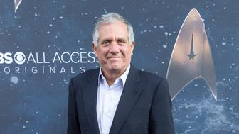 LOS ANGELES, CA - SEPTEMBER 19:  Les Moonves arrives for the Premiere Of CBS's 'Star Trek: Discovery' at The Cinerama Dome on September 19, 2017 in Los Angeles, California.  (Photo by Greg Doherty/Patrick McMullan via Getty Images)